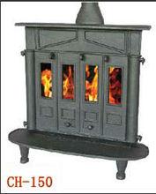 Corner Cast Iron Fireplace