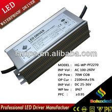 HG-WP-PF2270 LED driver lamps driver 70W COB