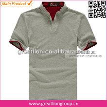 Customized men t-shirt polo designs