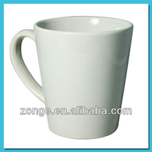 12oz Latte Cone Shape Mug Sublimation Wholesaler