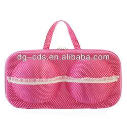 fashion beautiful EVA satin bra bag