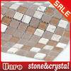 Rustic Stone Mosaic, Glass Marble Mosaic, 15mm Mosaic Tile