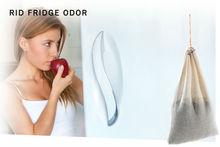 SMELLEZE Reusable Freezer Smell Removal Deodorizer: Eliminates Food Odor Without Cover-Ups