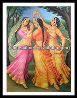 rajasthani oil painting