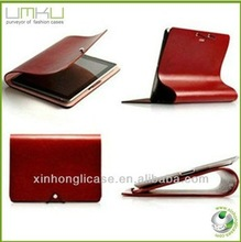 WHOLESALE leather flip case for ipad,belt clip case for ipad mini