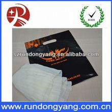 30*40cm ldpe customed printed plastic shopping bag