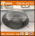 Disipador de calor de aluminio de perfil, chatarra de aluminio 6063, perfil de aluminio extruido