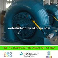 water powered turbine generator