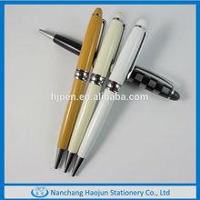 Classic Branded Metal Pens Twist Open Ballpoint Pen