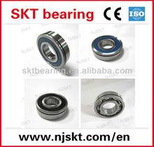 water pump bearing, 6215 N/NZ deep groove ball bearing with snap ring