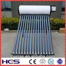 2015 new fashion Evacuated tube solar water heater installation