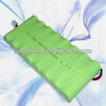 AA 2000mAh 9.6v nimh battery pack power tool battery