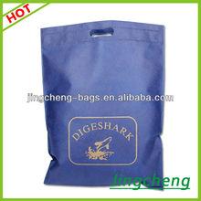 Dark -blue & diges hark cheap printed China reusable shopping bag pattern