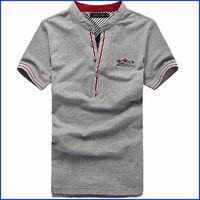 wholesale the 100% cotton fashion style polo shirt for men 2013 manufacturer