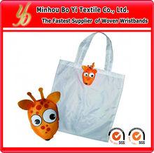 2013 Promotional Logo Printed Foldable Shopping Bag in animal shapes