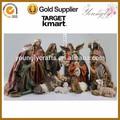 """El 16"""" antiguos de la resina de navidad natividad conjunto natividad 11/s figuras de la escena"""