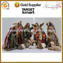 "The 16 "" Antique Christmas Resin Nativity Set 11/S nativity scene figurines"