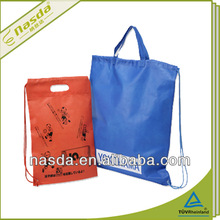 straw string fashion non woven fabric shoulder bag for high school girls
