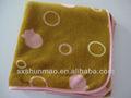 bande dessinée imprimée tissu motif géométrique goldfish coralliens couverture polaire bébé