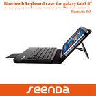 """Detachable Keyboard Tablet Case Keyboard for Samsung Galaxy Tab3 8"""""""