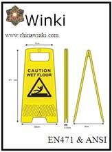Custom Logo Print Wet Floor Caution Sign