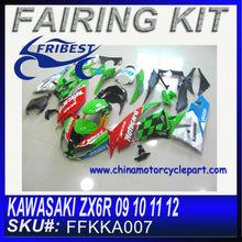 For KAWASAKI ZX6R 09 10 11 12 motorcycle fairings FFKKA007
