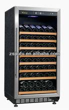 JF-80T 80 bottles zanussi compressor small wine cooler wine with kitchen cabinet design