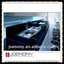 black Lacquer kitchen Cabinet Design in China