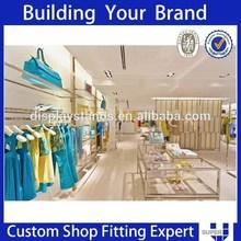 Customized men wear retail store design materials