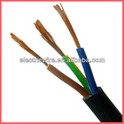 VDE approved electrical cables H05VV-F 0.75mm*3C