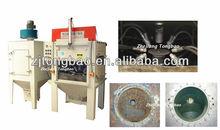 Dis saw special automatic sandblasting machine,automatic sandblasting machine