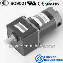 for copy machine chinese dc brush gear reducer motor