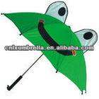 Frog Green Color Kids Animal Umbrella