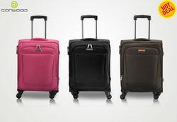 2014 hot-sale polyester suitcase ,3pcs luggage set