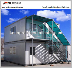Portable modular shipping luxury prefab container hotel living container home