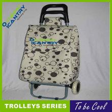 cheap price folding modern wheel shopping trolley bag