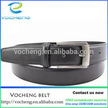 action leather classical buckle belt accept custom design