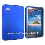 Blue Rubber hard Case for Samsung Galaxy tab p1000