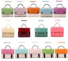 fashion bag handbag leather bag message courful shoulder bags ,small handbag
