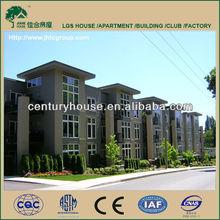 prefab steel structure hotel building