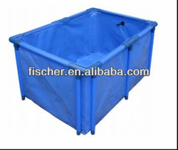 2014 high quality Hot selling Aquarium foldable koi fish tank,flexible fish tank,high quality foldable fish tank