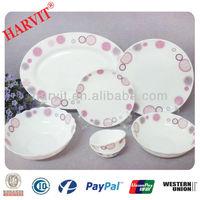 Rare Vintage Pyrex Arcopal Corelle Opal Ware Dinnerware Sets Luncheon Plates Saucers & Mugs & Bowls 28pcs