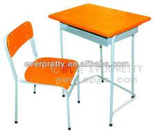 Metal crianças mesa e cadeira conjunto, Mesa da escola cadeira, Leitura material escolar