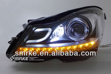 Hot sales and best quality headlight for BENZ W204 11-13 HID headlamps C200 C260 C300 led drl fog lamp