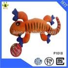Custom Plush animal pet toy,stuffed plush lizard doll with BB squeaker