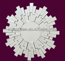 Sunburst modern design fashion decorative wall mirror