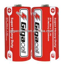 Carbon Zinc Size C battery / R14 battery
