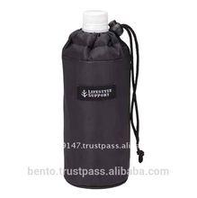 PET Bottle Cover Simple (BK)/thermal cover, bottle cooler, thermal bag, water bottle holder, 500ml pet bottle