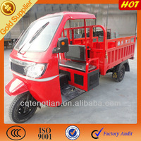 Three Wheel Cargo Motorcycle with Cabin