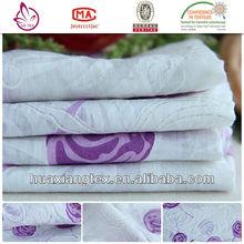 JY09818 Rayon nylon printed burnout fabric for shirt